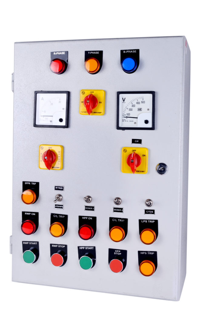 ROLEC Semi Automatic RO Control Panel
